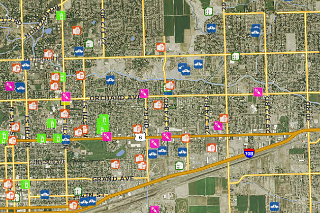 Grand Junction Crime Map