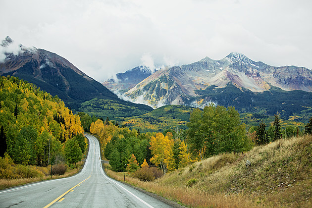 White Knuckles and Fall Colors Are On The San Juan Skyway
